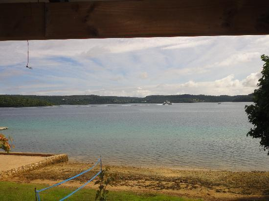 Mystic Sands: Our view with private beach