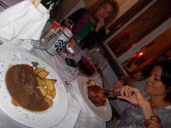 Ristorante Rosticceria Grill Room di Luis Sotriffer : goulash delizioso
