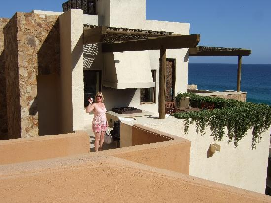 The Resort at Pedregal: The patio area