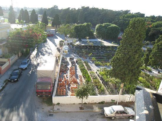 Sylvia Hotel: view
