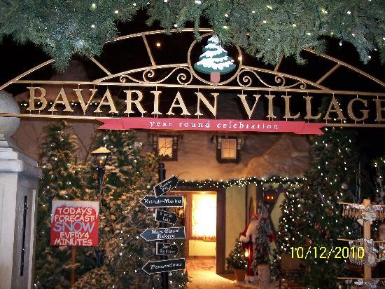 Yankee Candle Flagship Store : Snow... inside!!!