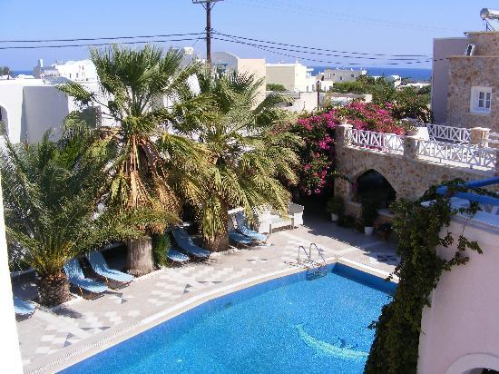 Atalos Suites: The view from another of our balconies
