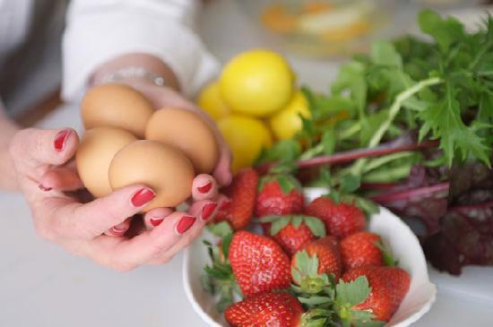 Bishop's Court Estate Boutique Hotel: You'll enjoy all the delights from our kitchen garden ....