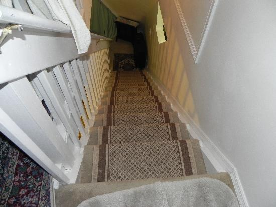 Pyramids in Florida: Stairs to first floor!