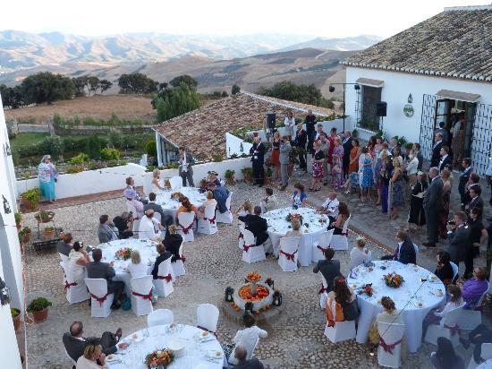 Hotel La Fuente del Sol: Our wedding on the terrace 2