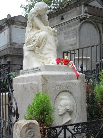 Cimetière du Père-Lachaise : Chopin
