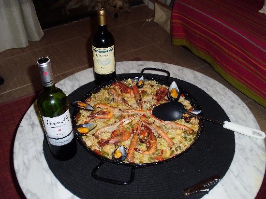 Casa Dos Torres : Utsøkte måltider