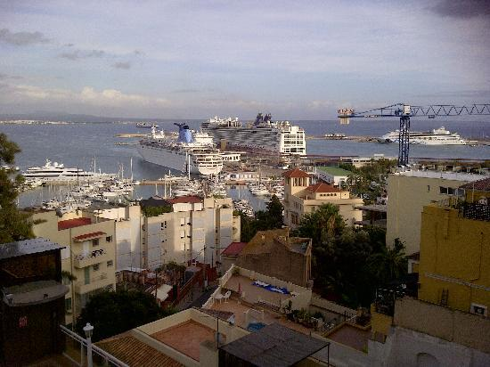 Catalonia Majorica Hotel: View from the room