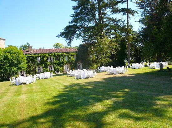 Belle Vie de Château en Gascogne : Parc sud