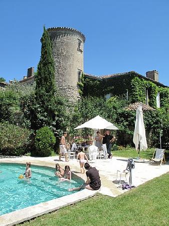 Belle Vie de Château en Gascogne : Piscine