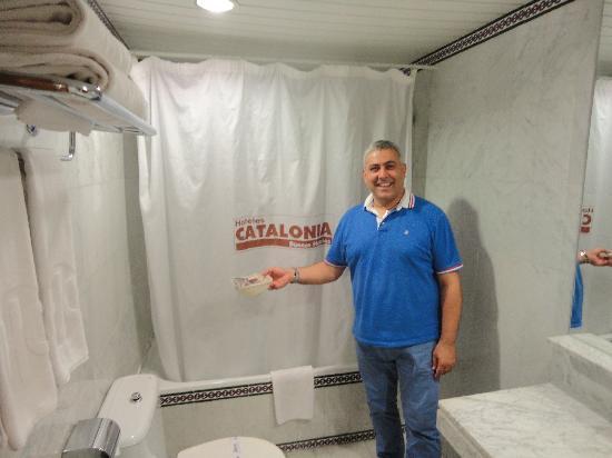 Catalonia Hispalis Hotel: la toilette