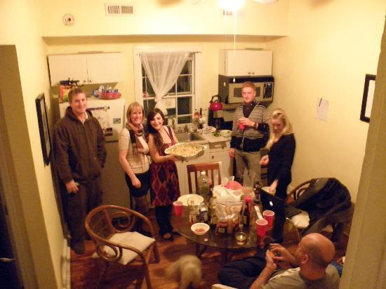 Charleston's NotSo Hostel: Hostel Christmas Eve Dinner