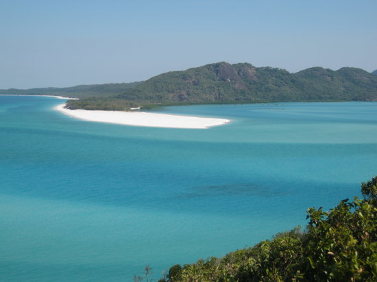 Whitsunday Island, Avustralya: View from top