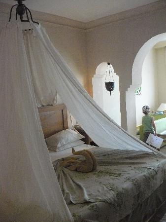 โรงแรมมาคาดี พาเลส: notre chambre