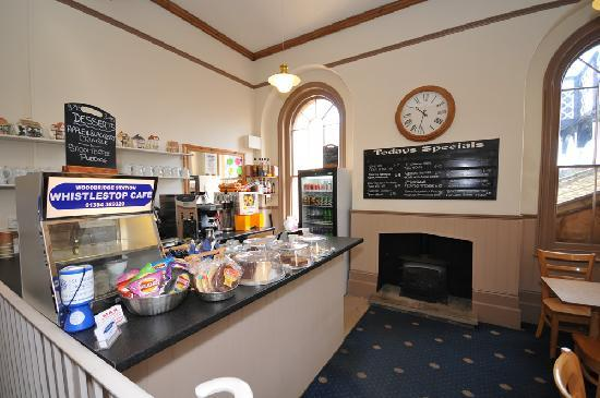 Woodbridge Station Guest House: Whistle Stop Cafe