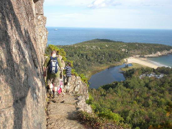 Acadia National Park, ME: The Beehive Trail