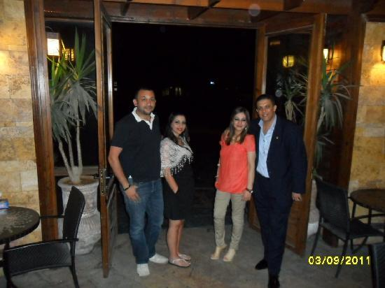 Le Royal Hotel Amman: meeting my wife sister and her huzpend from kweet.