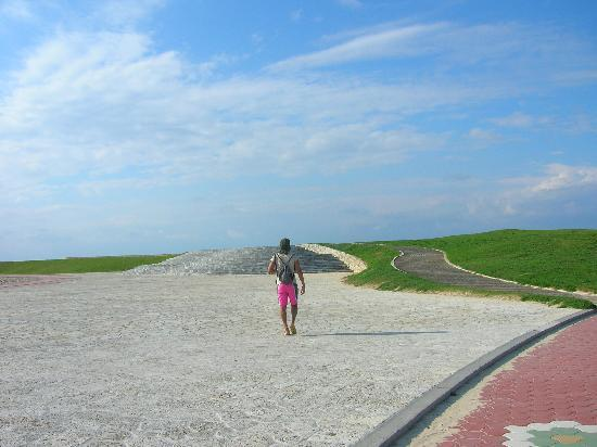 Sunset Beach : la passeggiata pedonale