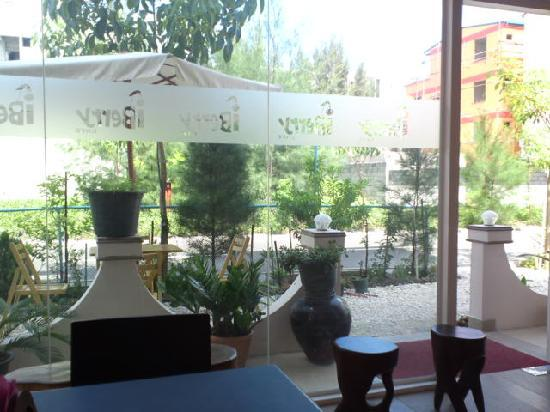 Terrace in I-berry Cafe