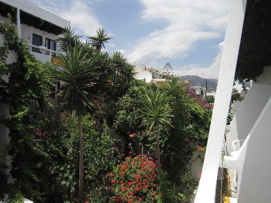 Aris Hotel: vista dal balcone