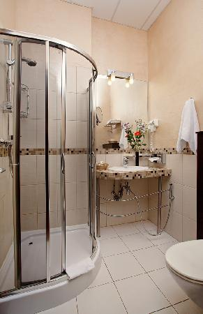 Nevsky Forum Hotel: Bathroom (for non Suite rooms)