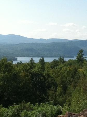 A Newfound Bed & Breakfast: View from The Newfound room