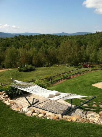 A Newfound Bed & Breakfast: Front lawn - relaxation area