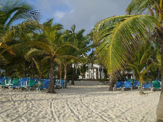 Hotel Riu Palace Punta Cana: The Beach area
