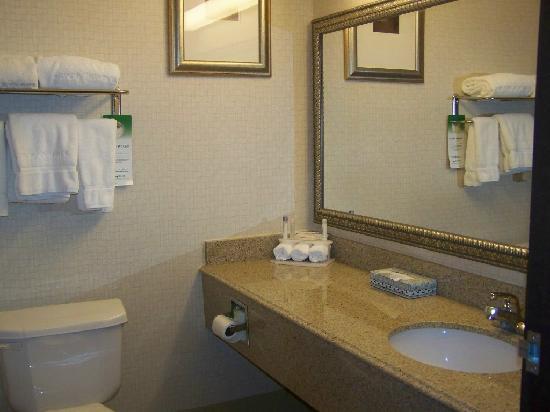 هوليداي إن إكسبريس كيندالفيل: Bathrooms