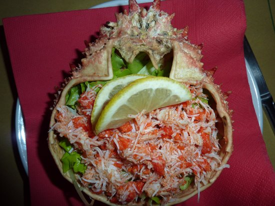 Osteria Ai Do Farai: Spider crab starter