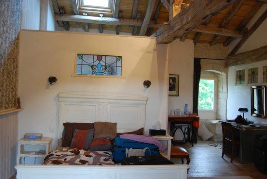 La Chabotterie Chambres d'Hotes : Bedroom suite