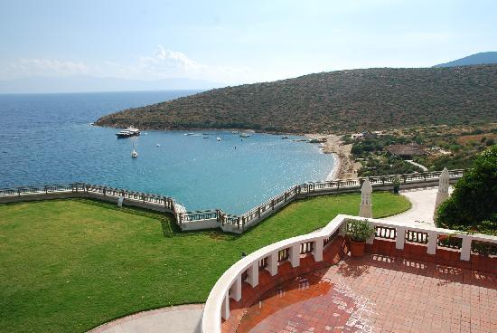Kempinski Hotel Barbaros Bay: view from one of the rooms