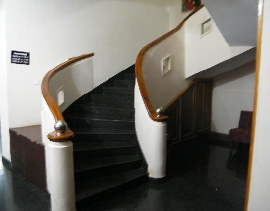 Hotel Mayura Kauvery KRS: Steps