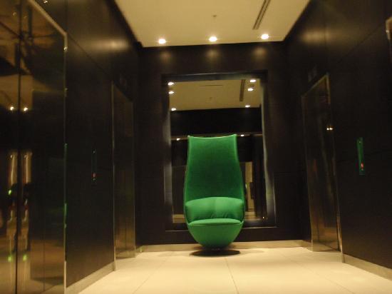 โรงแรมพาร์ค พลาซ่า เวสต์มินสเตอร์บริจด์ ลอนดอน: the green chair