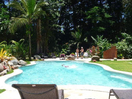 Hotel Shawandha Lodge: beautiful pool area