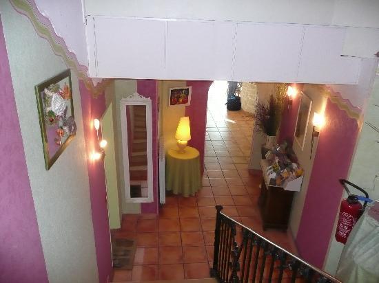 Hotel Les Amphores : Entrance hall