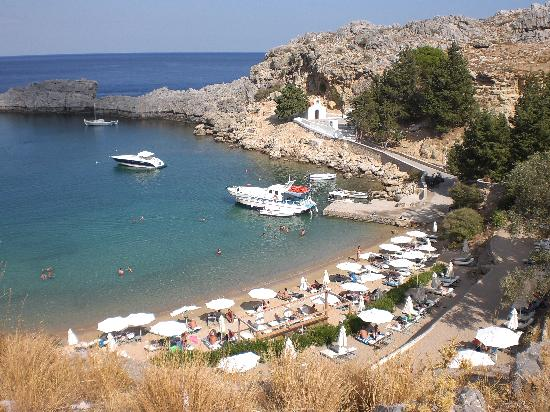 Hotel Lindos View: St. Paul's Bay
