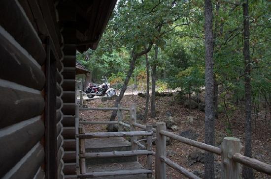 Cherokee Mountain Luxury Log Cabins: Deer Deck
