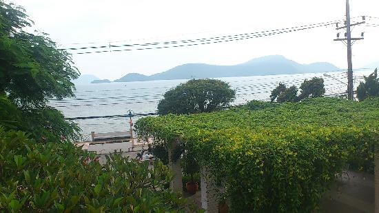 Cape Panwa, Tailandia: views from the balcony