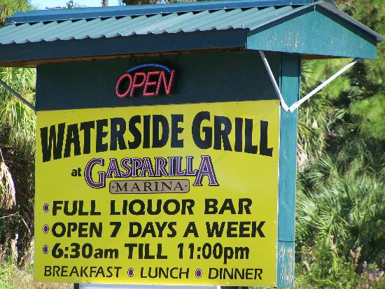 Waterside Grill: Welcome