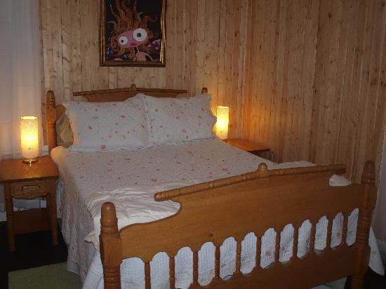 Gite la Mi-Temps : camera da letto