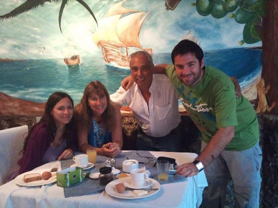 Grand Hotel Lobo de Mar: cena con amigos en el hotel