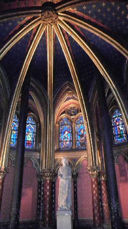 Sainte-Chapelle: Ribbed vault, Sainte Chapelle