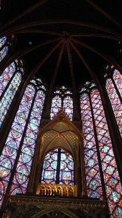 Sainte-Chapelle: Stained glass windows, Sainte Chapelle