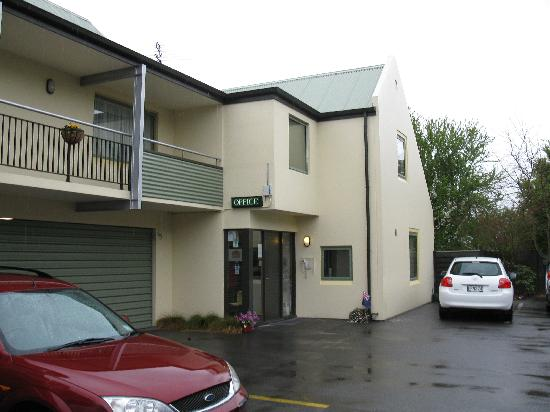 Comfort Inn Riccarton: Office