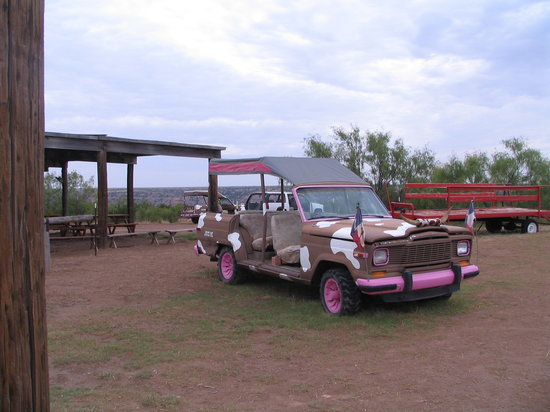 Canyon, TX: Colorful and Distinctive Palo Duro Jeep Tour Vehicle