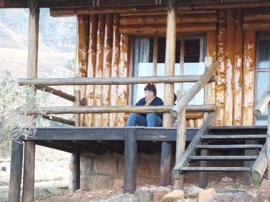 Drifters Drakensberg Inn: Cabin, twee slaapkamers met openhaard, hal en badkamer