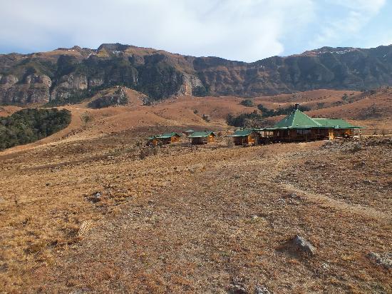 Drifters Drakensberg Inn : Landschap