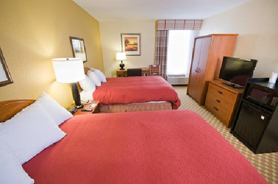 Country Inn & Suites by Radisson, Saginaw, MI : Country Inn & Suites Saginaw, MI - Two Double Bed Standard