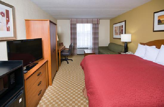 Country Inn & Suites by Radisson, Saginaw, MI : Country Inn & Suites Saginaw, MI - King Executive